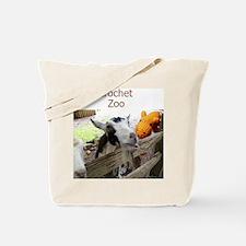 Crochet Zoo Tote Bag