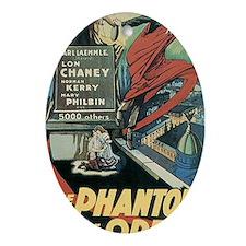 The Phantom of the Opera 1925 Oval Ornament