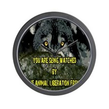 You are being watched! Wall Clock