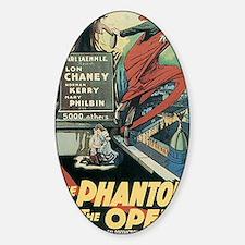 The Phantom of the Opera 1925 Decal
