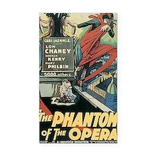 The Phantom of the Opera 1925 Rectangle Car Magnet