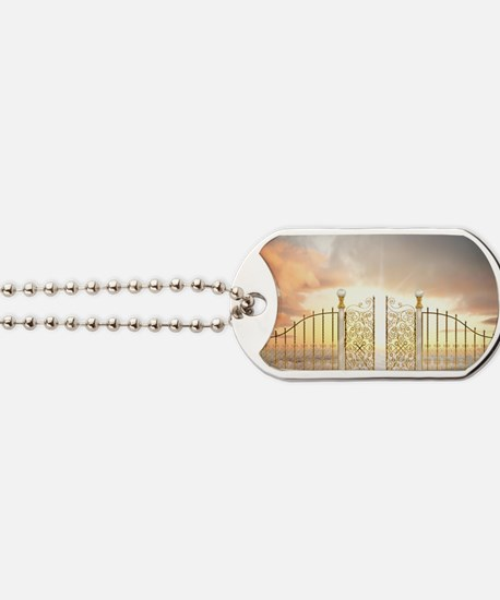 Pearly Gates - wide Dog Tags