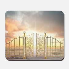 Pearly Gates - wide Mousepad