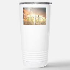 Pearly Gates - wide Travel Mug