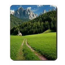 Church in Valley Mousepad
