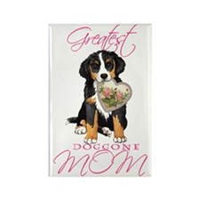 Berner mom1 Rectangle Magnet