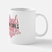 Pearls, Curls  Southern Girls Mug
