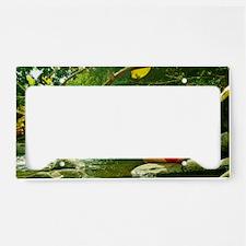 Yoga License Plate Holder