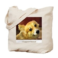 I Support Rescue Tote Bag