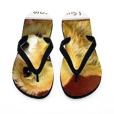 I Support Rescue Flip Flops