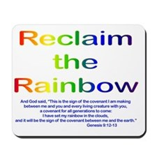 Reclaim the Rainbow Mousepad