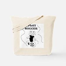 I Play Soccer (girl) Tote Bag