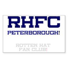 RHFC PETERBOROUGH - ROTTEN HAT Decal