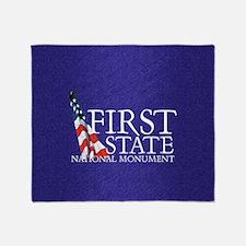 firststatesq Throw Blanket