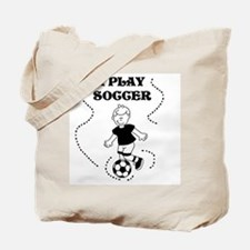 I Play Soccer (boy) Tote Bag