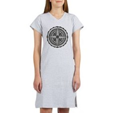 Compass Rose 2 Women's Nightshirt
