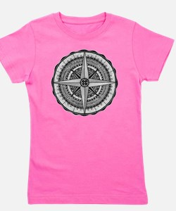 Compass Rose 2 Girl's Tee