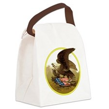 American Eagle Canvas Lunch Bag