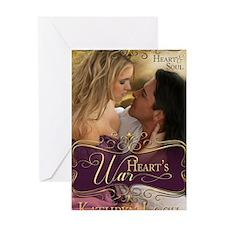 Hearts War Greeting Card