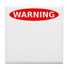 May Contain Spiders Tile Coaster