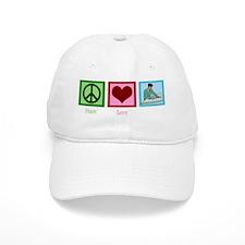peaceloveengineeringwh Baseball Cap