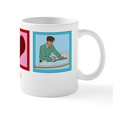 peaceloveengineeringwh Mug