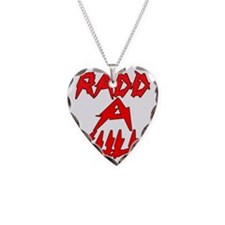 rRADICAL = RADD-A-KULL RedBla Necklace