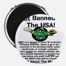 Not Banned In The USA! Magnet