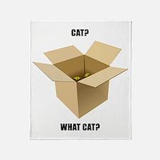 Cat? What Cat? Throw Blanket