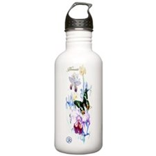 Yoga-W BG OM Namaste G Water Bottle