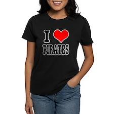 I Heart (Love) Pirates Tee