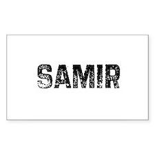 Samir Rectangle Decal