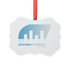 Smash Fabric Records logo and pic Ornament