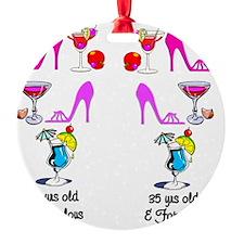 35TH CHICK Ornament