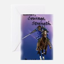 Journal Charge! Lightening Greeting Card