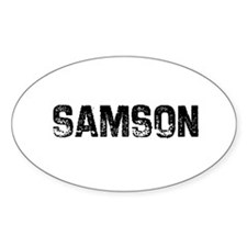Samson Oval Decal