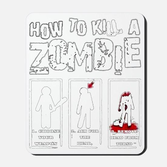 How to kill a Zombie Mousepad