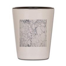 Marble Tile Shot Glass