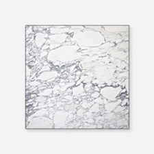 """Marble Throw Square Sticker 3"""" x 3"""""""