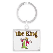 The King Landscape Keychain