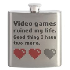 Video games ruined my life Flask