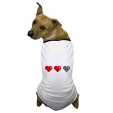 Video games ruined my life (dark) Dog T-Shirt