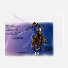 Laptop skin Charge Lightning Destiny Greeting Card