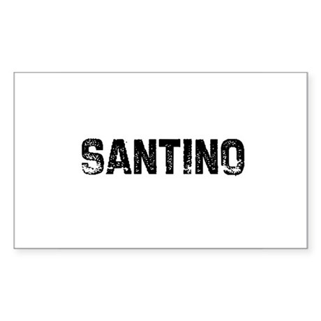 Santino Rectangle Sticker