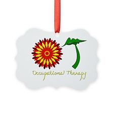 Flower Power OT Ornament