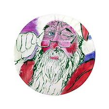 """Santa 3.5"""" Button"""