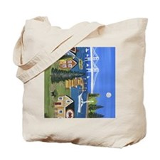 Seafood Dining Tote Bag