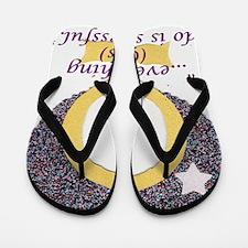 Gods Girls Rock-medium Flip Flops