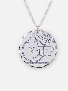 Two Fuckin Pundits Logo Necklace