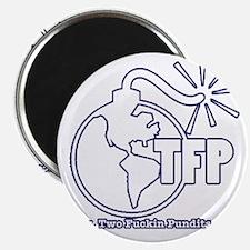 Two Fuckin Pundits Logo Magnet